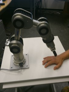 The robot arm